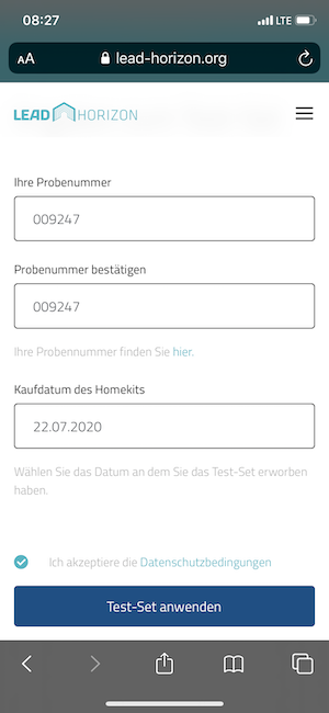 LEAD Horizon WebApp